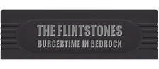 Flintstones, The - Burgertime in Bedrock logo