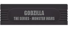 Godzilla - The Series - Monster Wars logo