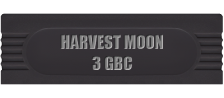 Harvest Moon 3 GBC logo