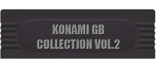 Konami GB Collection Vol.2 logo