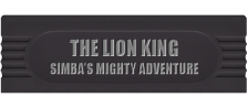 Lion King, The - Simba's Mighty Adventure logo