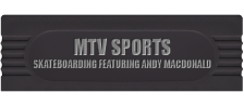 MTV Sports - Skateboarding featuring Andy MacDonald logo