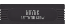 NSYNC - Get to the Show logo