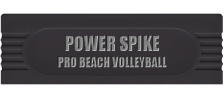 Power Spike - Pro Beach Volleyball logo