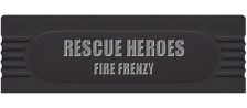 Rescue Heroes - Fire Frenzy logo