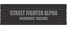 Street Fighter Alpha - Warriors' Dreams logo