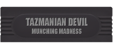 Tazmanian Devil - Munching Madness logo