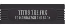 Titus the Fox to Marrakech and Back logo