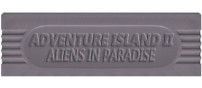 Adventure Island II - Aliens in Paradise logo
