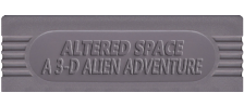 Altered Space - A 3-D Alien Adventure logo