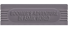 Boomer's Adventure in ASMIK World logo