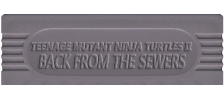 Teenage Mutant Ninja Turtles II - Back from the Sewers logo