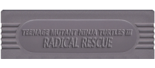 Teenage Mutant Ninja Turtles III - Radical Rescue logo
