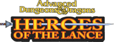 Advanced Dungeons & Dragons - Heroes of the Lance logo