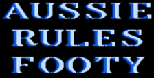 Aussie Rules Footy logo