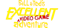 Bill & Ted's Excellent Video Game Adventure logo