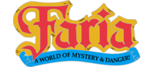 Faria - A World of Mystery & Danger! logo