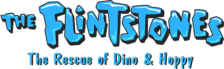 Flintstones, The - The Rescue of Dino & Hoppy logo