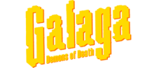 Galaga - Demons of Death logo
