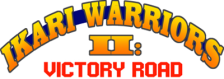 Ikari Warriors II - Victory Road logo
