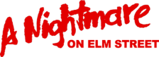 Nightmare on Elm Street, A logo