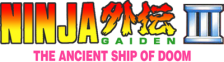 Ninja Gaiden III - The Ancient Ship of Doom logo