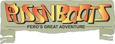 Puss n Boots - Pero's Great Adventure logo