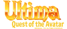 Ultima - Quest of the Avatar logo