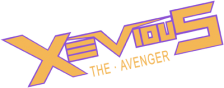 Xevious - The Avenger logo
