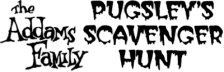 Addams Family, The - Pugsley's Scavenger Hunt logo
