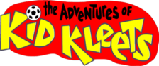 Adventures of Kid Kleets, The logo