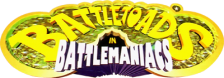 Battletoads in Battlemaniacs logo