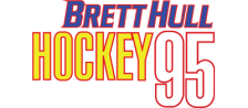 Brett Hull Hockey '95 logo