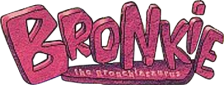 Bronkie the Bronchiasaurus logo