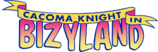 Cacoma Knight in Bizyland logo