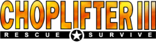 Choplifter III - Rescue Survive logo