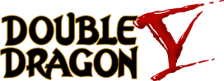 Double Dragon V - The Shadow Falls logo