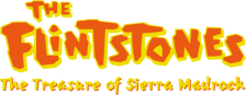 Flintstones, The - The Treasure of Sierra Madrock logo