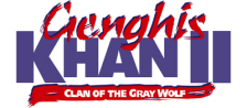 Genghis Khan II - Clan of the Gray Wolf logo