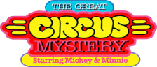 Great Circus Mystery Starring Mickey & Minnie, The logo