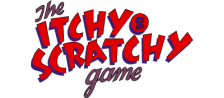 Itchy & Scratchy Game, The logo