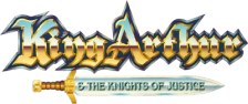 King Arthur & The Knights of Justice logo
