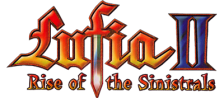 Lufia II - Rise of the Sinistrals logo