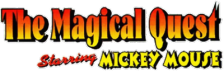 Magical Quest Starring Mickey Mouse, The logo