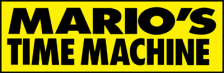 Mario's Time Machine logo