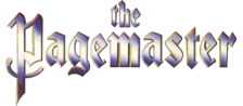 Pagemaster, The logo