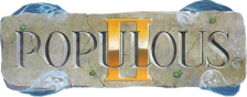 Populous II - Trials of the Olympian Gods logo