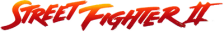 Street Fighter 2 - The World Warrior logo