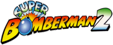 Super Bomberman 2 logo