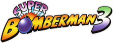 Super Bomberman 3 logo